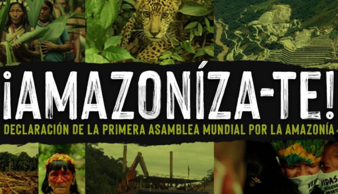 En defensa de la Amazonía